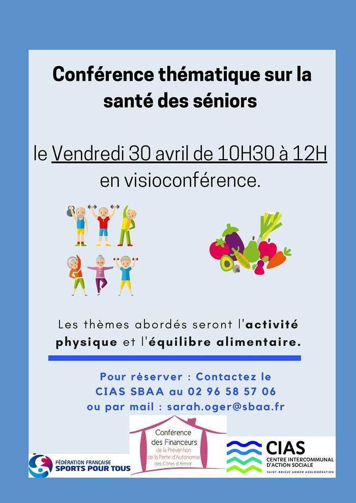 Conférence Santé des séniors (activité physique et équilibre alimentaire)