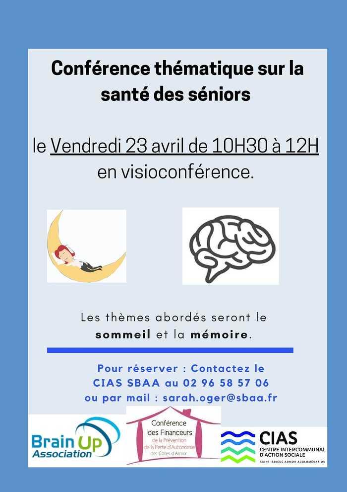 Conférence santé des séniors (sommeil et mémoire)
