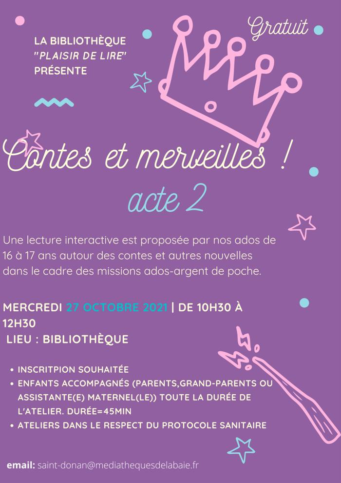 Contes et merveilles (acte 2)