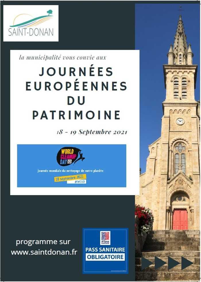 JOURNEES EUROPOPEENNES DU PATRIMOINE