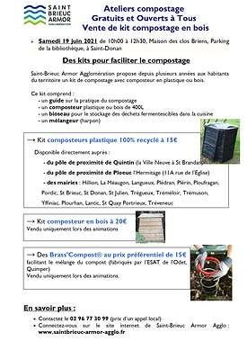 Ateliers compostage Gratuits et Ouverts à Tous Vente de kit compostage en bois 0